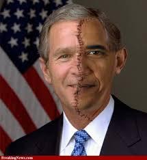 Barack & Bush