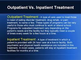 Inpatient vs outpatient 8